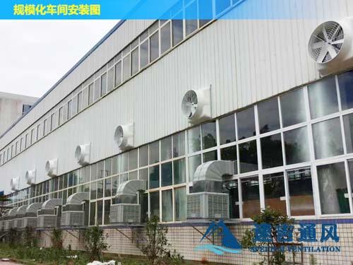 合肥锻造厂专用负压风机和浇注机通风工程案例