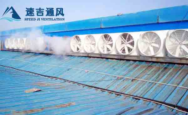 南通焊接车间屋顶风机排烟通风降温工程系统