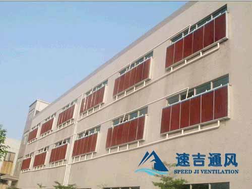 纺织车间安装水帘墙降温系统宿迁厂房水帘安装效果图
