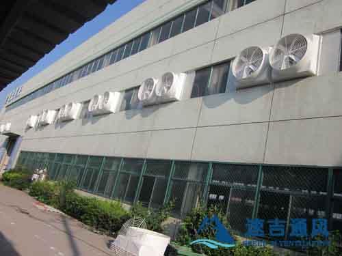 焊接车间排烟专用负压风机无锡负压风机工程案例图片