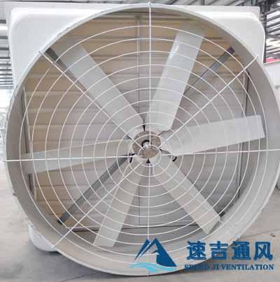 昆山负压风机1460*460*590mm尺寸大小_玻璃钢材质可防腐