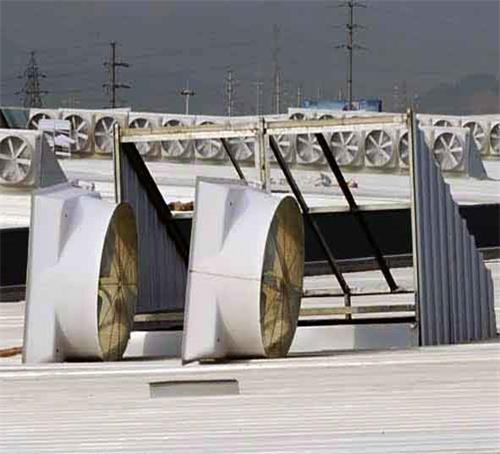 玻璃钢低噪音屋顶风机具有那些大的改善以及主要作用