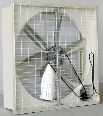 玻璃钢直接式方型负压风机尺寸有1020*1020*400mm
