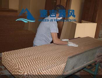 水帘纸型号7090型有10公和15公分厚(长高宽)尺寸可订做
