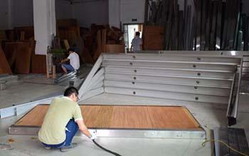 7090型水帘墙运用范围及湿帘线铝合金水帘纸运用材料介绍
