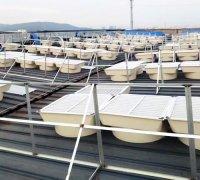 霸州玻璃钢屋顶风机基础及安装