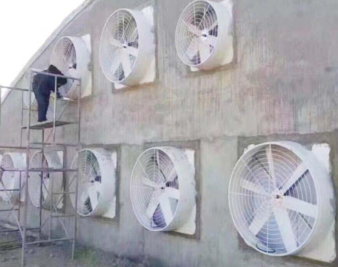 养牛场玻璃钢负压风机