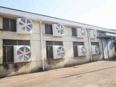 厂房换气通风设备,负压风机水帘通风降温系统