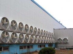 江苏常州公司负压风机冷却案例