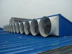 河北新华欧亚汽车零部件集团通风降温设备案例