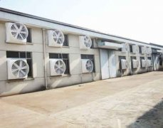 大型车间厂房局部高温降温方法,通风降温系统效果