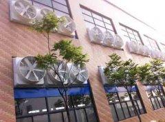 上海汽车维修车间降温方法,移动冷风机的好处